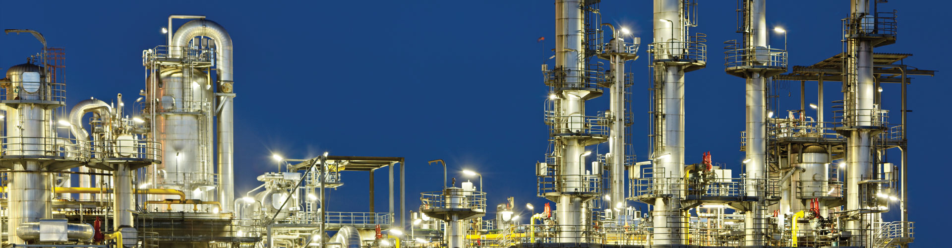 Oil and Gas Refinery Banner