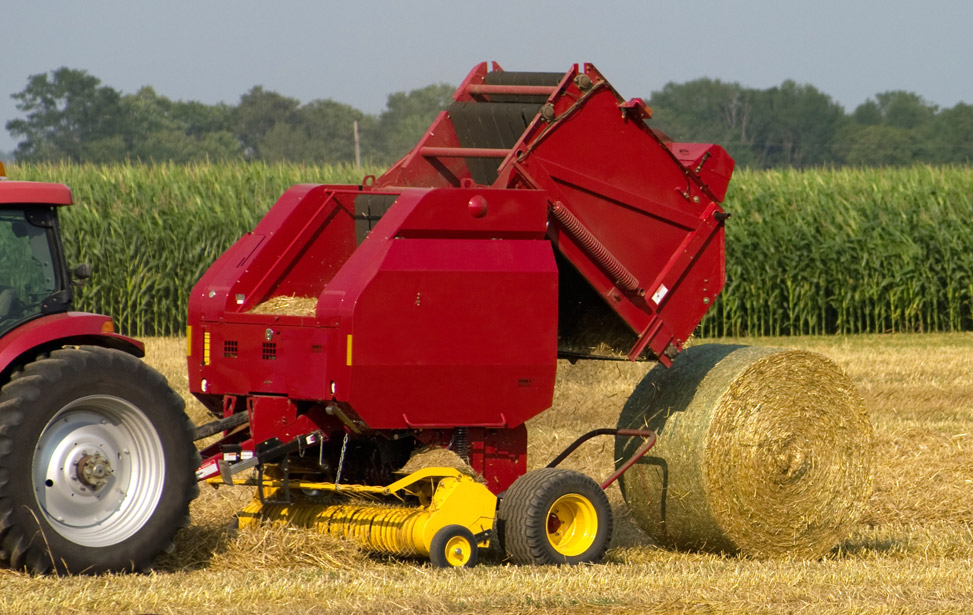 Cotton and Hay Baler