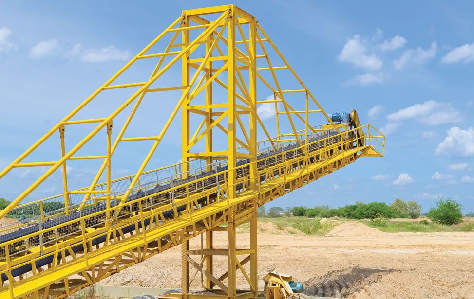 Sand Mine Conveyors