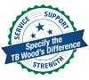 TB Wood's Specify Difference Logo
