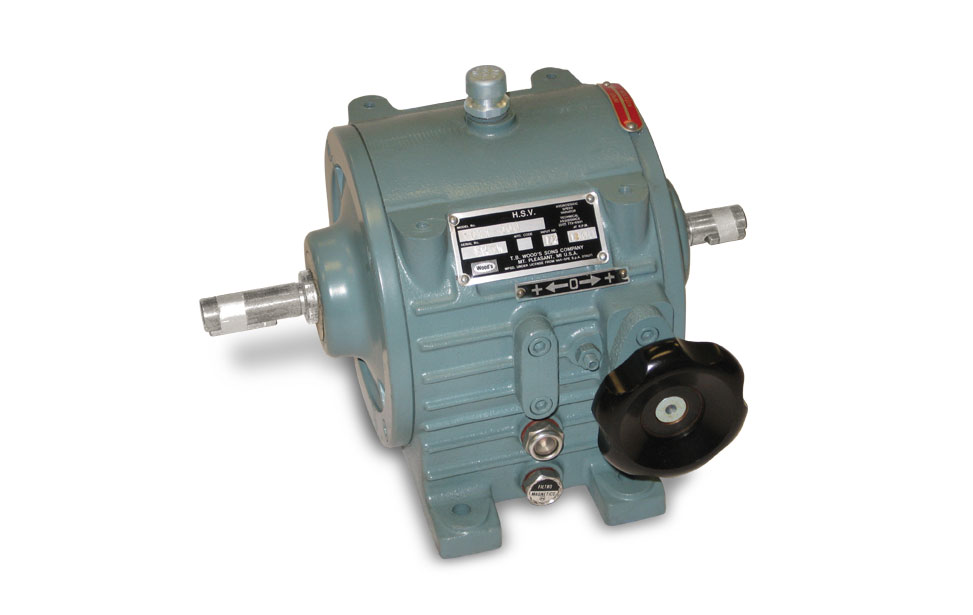 TB Wood's Hydrostatic Speed Variator