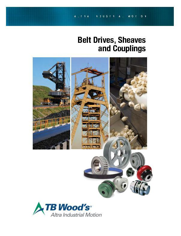Belted Drives, Sheaves & Couplings
