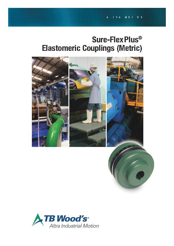 (A4) Sure-Flex® Plus Elastomeric Couplings (Metric)