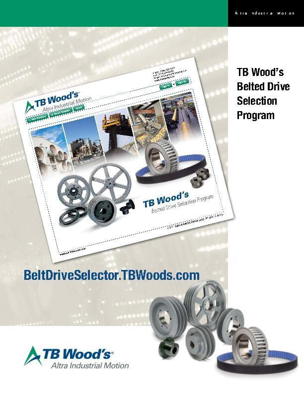 Belted Drive Selection Program Online