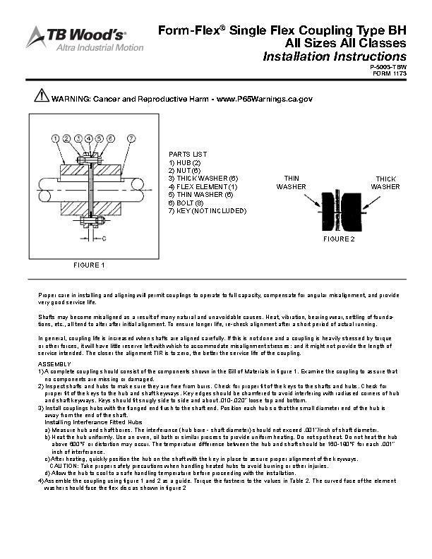 Form-Flex® Flexible Disc Couplings | TB Wood's