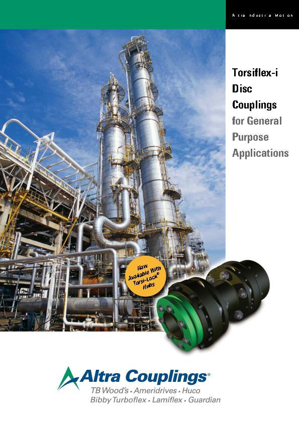 (A4) Torsiflex-i Disc Couplings for General Purpose Applications
