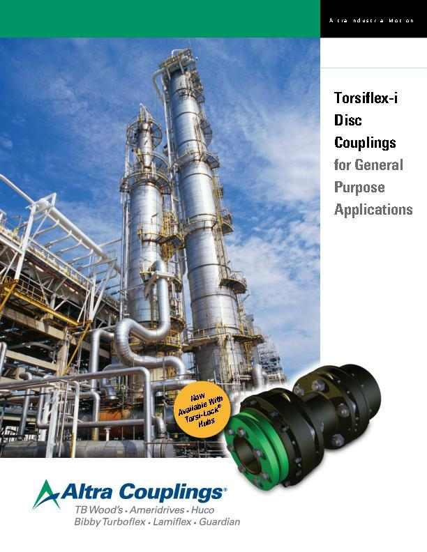 Torsiflex-i Disc Couplings for General Purpose Applications