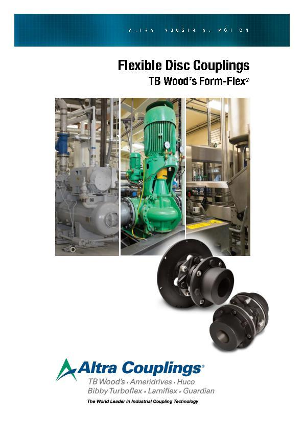 (A4) Flexible Disc Couplings TB Woods Form-Flex