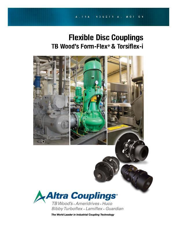 Flexible Disc Couplings TB Woods Form-Flex & Torsiflex-i